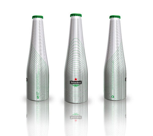 Heineken Green Line Aluminum Based Package Design