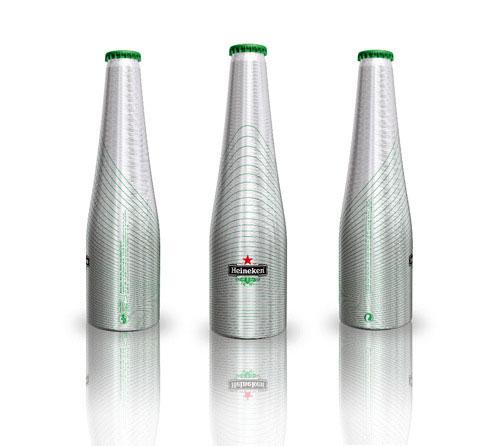 Heineken Green Line Aluminum Based Package Design