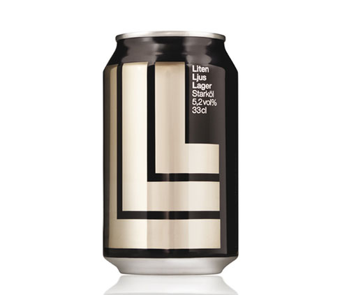 Liten Ljus Lager Aluminum Based Package Design
