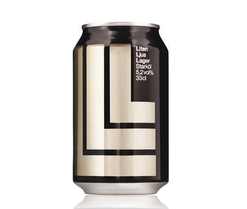 Liten Ljus Lager Aluminum Based Package Design