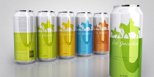 Los Gauchos Aluminum Based Package Design
