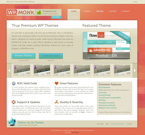 38 Sites With Interesting CSS And Flash Menu Designs 36