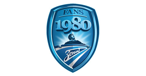Fan movement FC Zenit 30 years logo