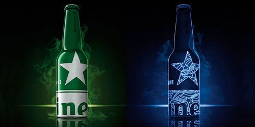 Heineken STR Bottles Aluminum Based Package Design