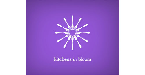 Kitchens in bloom logo