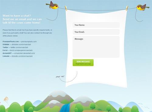 ormanclark.com form design
