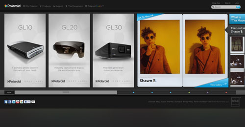 38 Sites With Interesting CSS And Flash Menu Designs 21