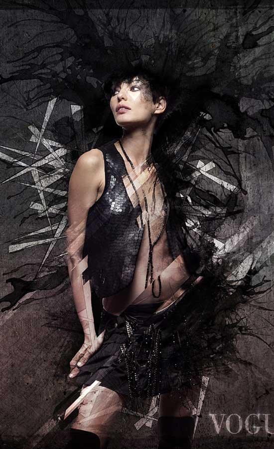 Create a Dark & Grungy Digital Art Piece in Photoshop