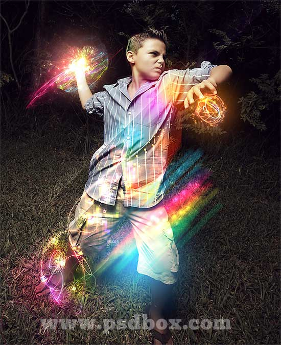 Making a Color Wizard in Photoshop
