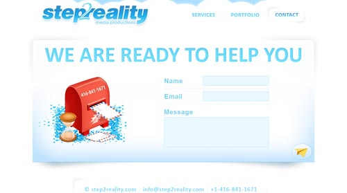step2reality.com form design