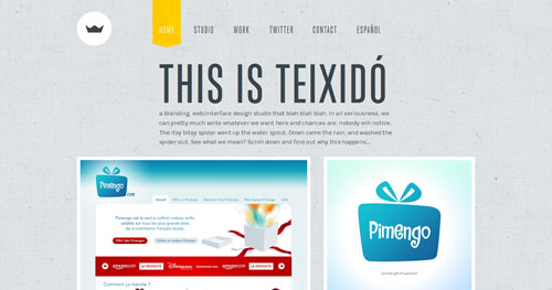 38 Sites With Interesting CSS And Flash Menu Designs 6