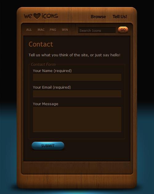 weloveicons.com form design