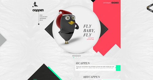 38 Sites With Interesting CSS And Flash Menu Designs 5