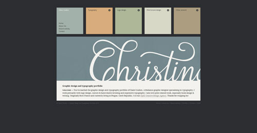 38 Sites With Interesting CSS And Flash Menu Designs 9