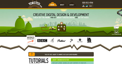 38 Sites With Interesting CSS And Flash Menu Designs 13