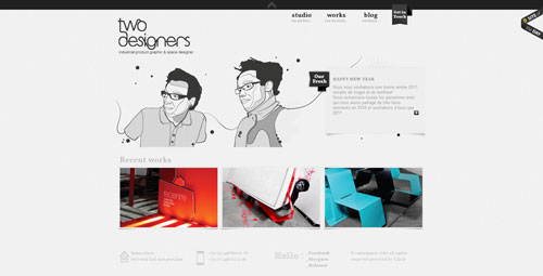 38 Sites With Interesting CSS And Flash Menu Designs 8