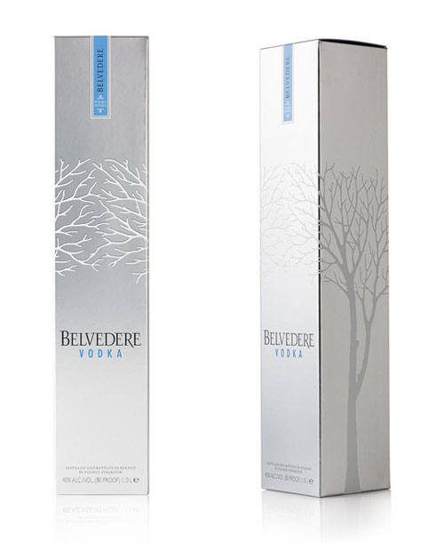 Belvedere Vodka Package Design