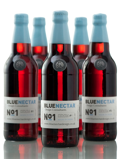 Blue Nectar No.1 Package Design