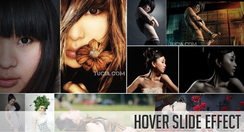 Hover Slide Effect with jQuery tutorial