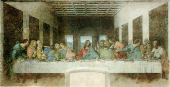 Leonardo Da Vinci-The Last Supper