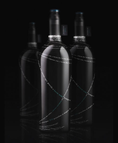 Lorem Wine Package Design