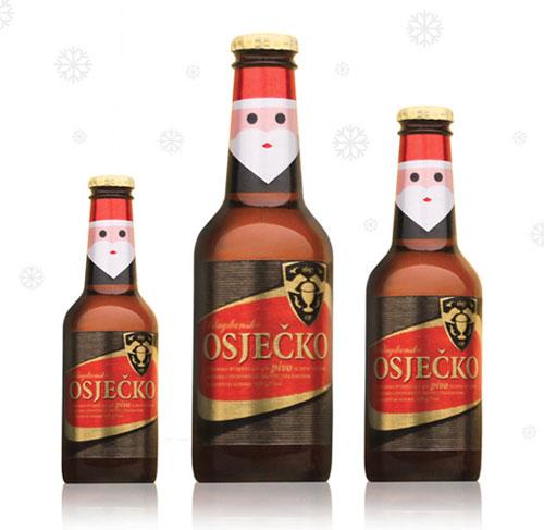 Osječko pivo Package Design