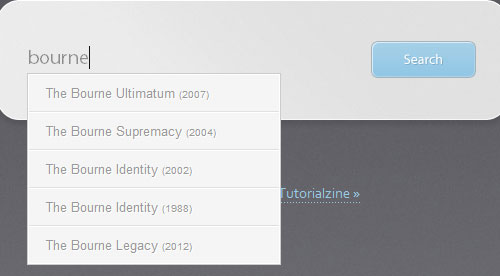 A Simple Movie Search App w/ jQuery UI tutorial