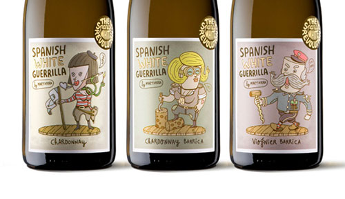 Spanish White Guerrilla Package Design