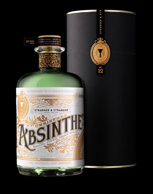 Christmas Absinthe Package Design