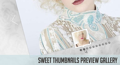 Sweet Thumbnails Preview Gallery jquery tutorial