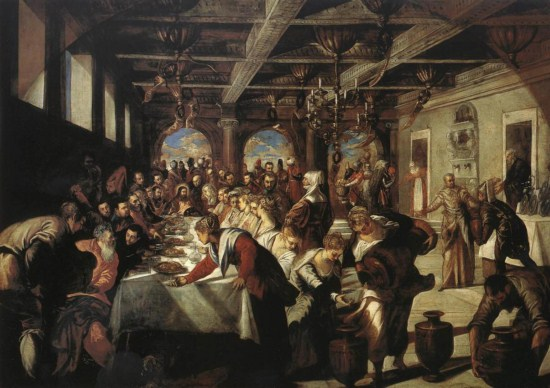 Tintoretto - The Wedding Feast