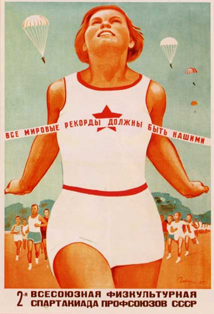 The Art of Propaganda: Retro Soviet Posters
