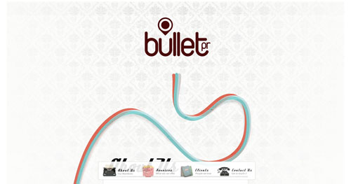 bulletpr.co.uk Selection Of 45 Sites That Are Neat Thanks To jQuery