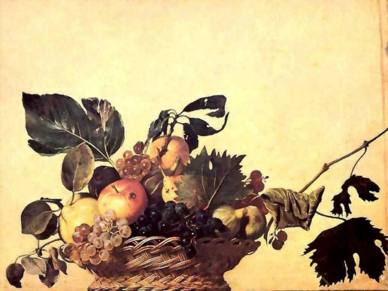 Caravaggio - Canestro di frutta