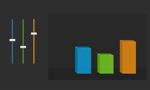 Colorful Sliders With jQuery & CSS3 tutorial