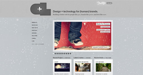 crushlovely.com Selection Of 45 Sites That Are Neat Thanks To jQuery
