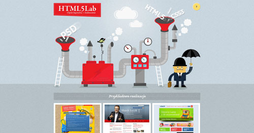html5lab.pl HTML5 and CSS 3 inspiration showcase site