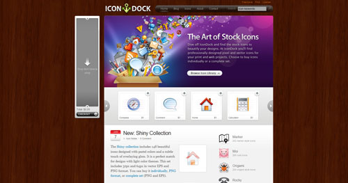 icondock.com Selection Of 45 Sites That Are Neat Thanks To jQuery