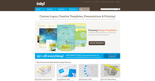 inkd.com Selection Of 45 Sites That Are Neat Thanks To jQuery