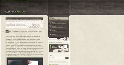 matthiasschuetz.com Selection Of 45 Sites That Are Neat Thanks To jQuery