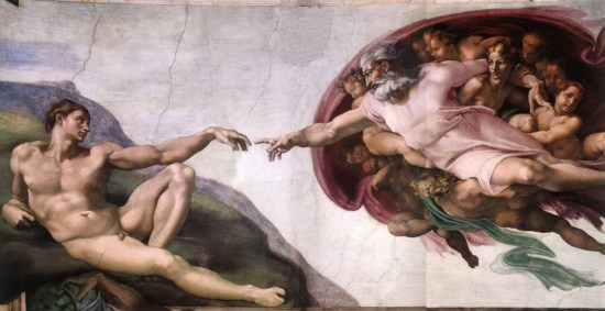Michelangelo-Creation of Adam