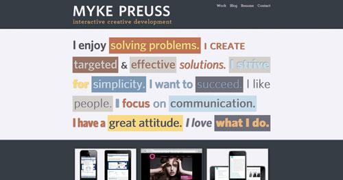 waytoogood.ca HTML5 and CSS 3 inspiration showcase site