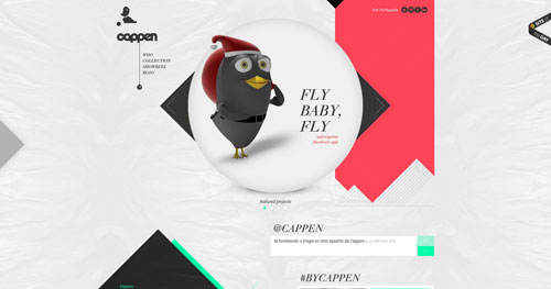 cappen.com HTML5 and CSS 3 inspiration showcase site