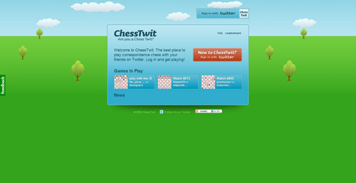 chesstwit.com Selection Of 45 Sites That Are Neat Thanks To jQuery