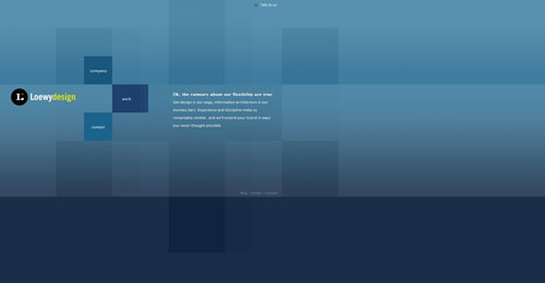 loewydesign.com Selection Of 45 Sites That Are Neat Thanks To jQuery