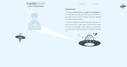 manishkhatri.com HTML5 and CSS 3 inspiration showcase site