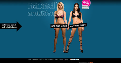 nakedambition.com Selection Of 45 Sites That Are Neat Thanks To jQuery