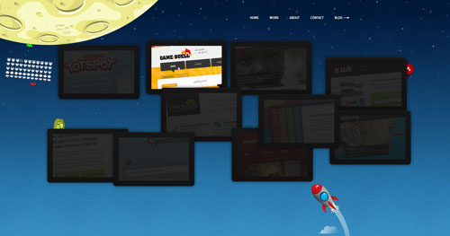 ormanclark.com Selection Of 45 Sites That Are Neat Thanks To jQuery