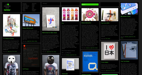 tomtor.com Selection Of 45 Sites That Are Neat Thanks To jQuery