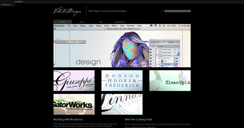 vektordesign.com Selection Of 45 Sites That Are Neat Thanks To jQuery